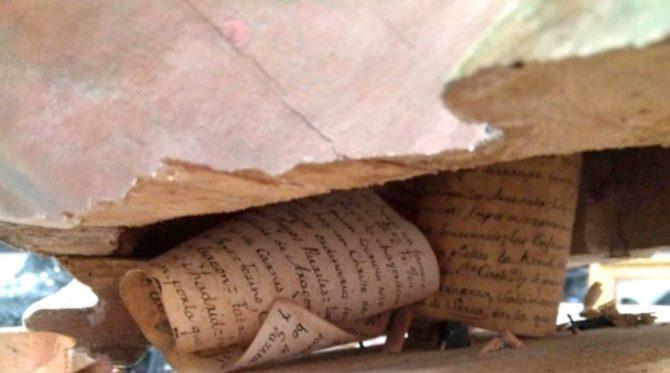 Los pergaminos fueron redactados en 1777