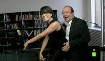 Iceta, bailando con la periodista de LaSexta Thais Villas
