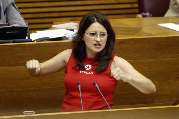 Mònica Oltra, líder de Compromís.