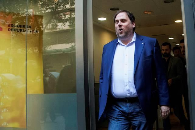 Oriol Junqueras, exvicepresidente de la Generalitat.