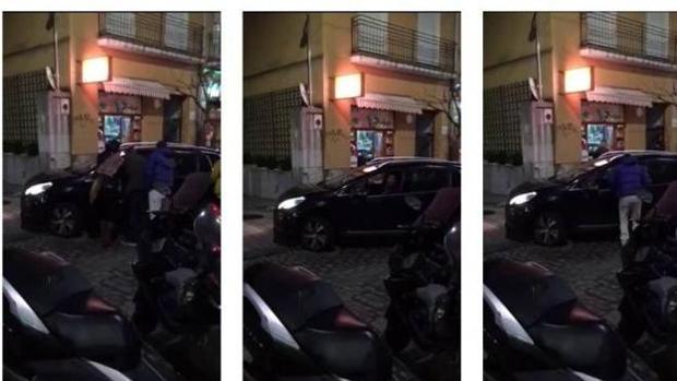 Miguel Ángel Revila, en el vídeo donde se le ve en dirección contraria - YouTube: @Cantabrista