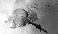 """Simo Häyhä se preentaba en el terreno de batalla vestido como un fantasma. Sus enemigos lo apodaron """"La muerte blanca"""""""