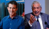 Manuel Valls y Mario Vargas Llosa