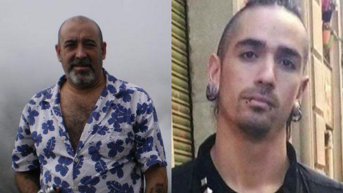 Víctor Lainéz y su agresor, Rodrigo Lanza.
