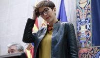 Violeta Barba (Podemos), presidenta de las Cortes de Aragón