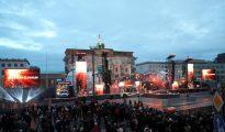 La celebración de Año Nuevo en Berlín