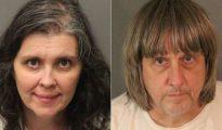 Los padres, David Allen Turpin y Louise Anna Turpin, de 57 y 49 años respectivamente