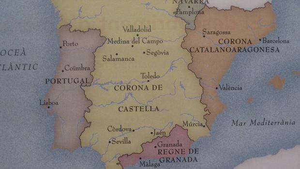 El nacionalismo catalán lleva años refiriéndose a la Corona de Aragón como «Corona catalano-aragonesa»
