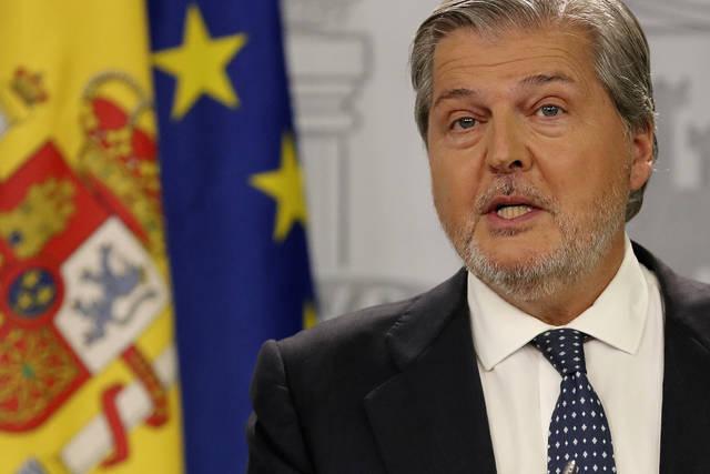 El portavoz del Gobierno, Iñigo Méndez de Vigo.
