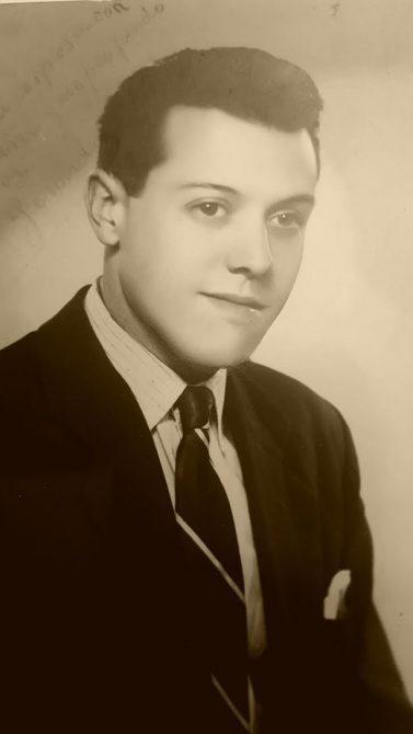 Gerard Bellalta i Carim, en su juventud.
