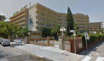 La vecina de Pinseque que resultó intoxicada estuvo alojada en el Hotel Jaime I de Salou a finales de septiembre de 2016/ Google maps