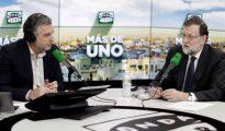 Rajoy, durante la entrevista en Onda Cero