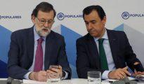 Mariano Rajoy y Fernando Martínez-Maillo