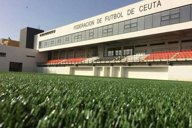 Sede de la Federación de Fútbol de Ceuta, a la que pertenecía la árbitra despedida (Federación de Fútbol de Ceuta)