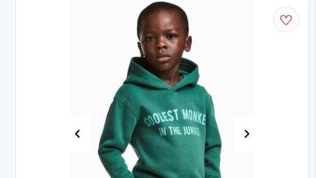 La polémica sudadera de H&M que ha sido calificada de racista