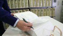 Testamentos custodiados en una notaría