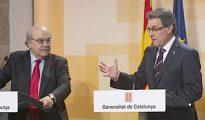 Artur Mas y Andreu Mas-Colell eran presidente y conseller de Economía cuando se privatizó
