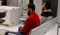 Vista del juicio en la Audiencia Nacional donde hoy se juzga a dos presuntos yihadistas de origen marroquí