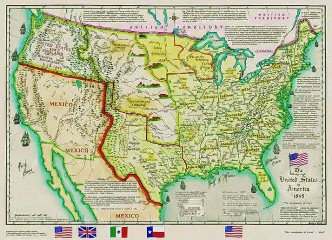 Anexión de Texas a los Estados Unidos
