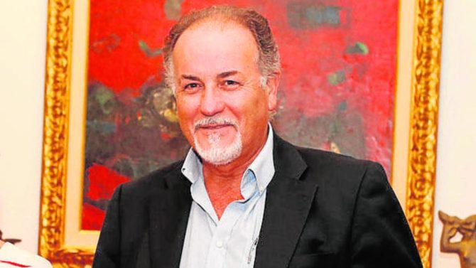 El alcalde de Pajares de la Laguna (Salamanca), Juan Antonio Benito de Dios (foto ABC)