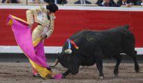 Curro Díaz (en una imagen de 2016 en Bilbao) torea el sábado en el coso de Carabanchel