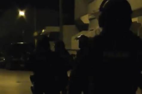 Momento de la detención del presunto yihadista en Torre Pacheco.