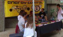 Una parada de Enery Control en el campus de Bellvitge de la UB