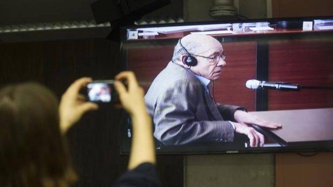 Fèlix Millet durante el juincio por el caso Palau