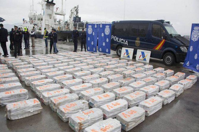 Heroína incautada procedente de los Balcanes, Turquía y Holanda