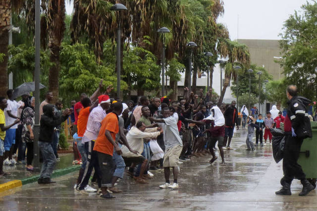 Inmigración en Melilla.