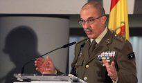 El general Fernando Alejandre, jefe de Estado Mayor de la Defensa (Jemad)