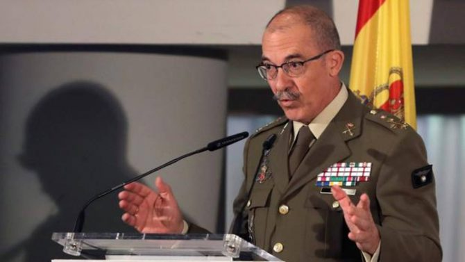 El general Fernando Alejandre, jefe de Estado Mayor de la Defensa (Jemad)
