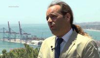 Juan Cassá, portavoz de Ciudadanos en el Ayuntamiento de Málaga.