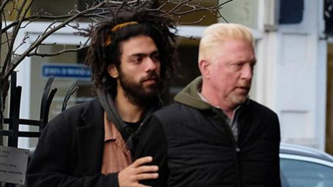 Noah y Boris Becker
