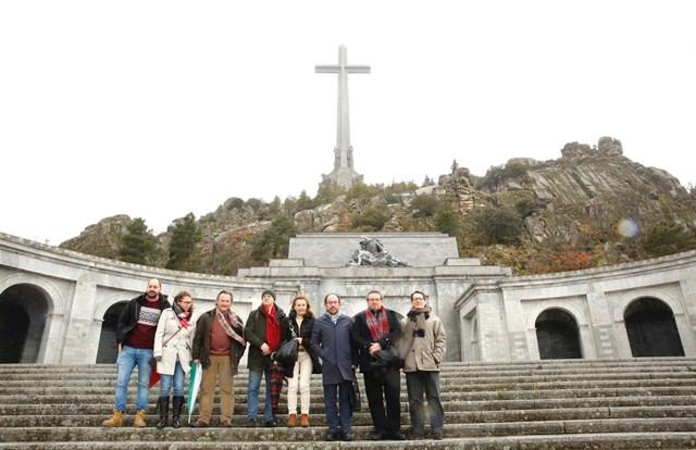 Socialistas en el Valle de los Caídos.