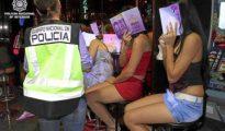 Imagen de archivo del desmantelamiento de una red de explotación sexual- POLICíA