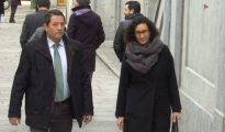 Marta Rovira, a su llegada al Tribunal Supremo
