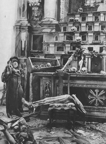 La iglesia de San Román sufrió una completa destrucción en la fatídica noche del 18 julio 1936