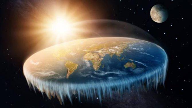 Recreación de la Tierra plana - Fotolia