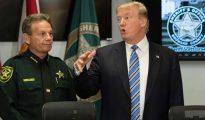 Trump, en una rueda de prensa tran los atentados de Florida -AFP