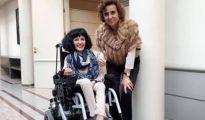 Virginia Felipe con la ministra de Sanidad, la pasada semana - Twitter