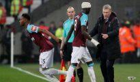 Una imagen del West Ham-Crystal Palace