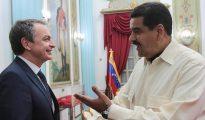 Zapatero y Maduro.