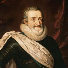 Enrique IV por Frans Pourbus el Joven.