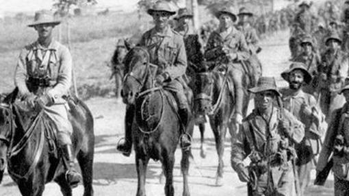 La Legión, en marcha