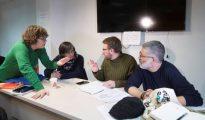 Consejo político de la CUP reunido este sábado en Barcelona