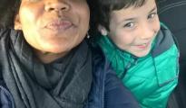 Ana Julia junto al pequeño Gabriel Cruz - FACEBOOK