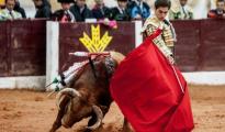 Ginés Marín, en la recién terminada Feria de Olivenza