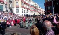 Legionarios en calle Larios.