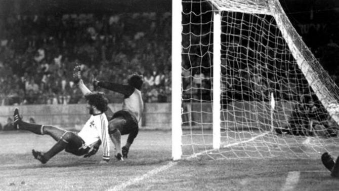 Fotograma del partido que acabó 12-1 a favor de España contra Malta